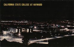 California State College at Hayward Postcard