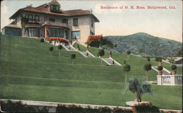 Residence of G.H. Ross Hollywood California