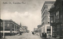 Fifth St. Postcard