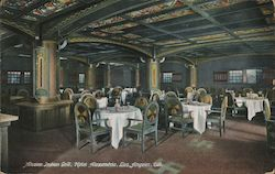 Mission Indian Grill, Hotel Alexandria Postcard