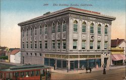Elks Building Postcard