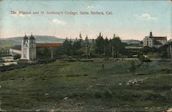 The Mission and St. Anthony's College Postcard