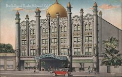 New Hollywood Theater Postcard