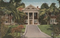 The Eastman Residence Postcard