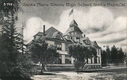 Santa Maria Union High School Postcard