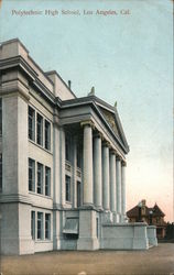 Polytechnic High School Postcard