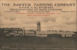 The Sawyer Tanning Company Postcard