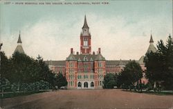 State Hospital for the Insane Postcard