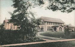 Receiving Bldg., State Hospital Postcard