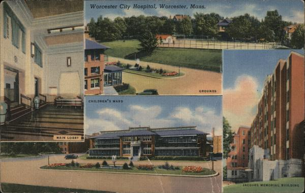 Worcester City Hospital Massachusetts