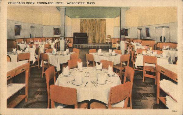Coronado Room, Coronoado Hotel Worcester Massachusetts