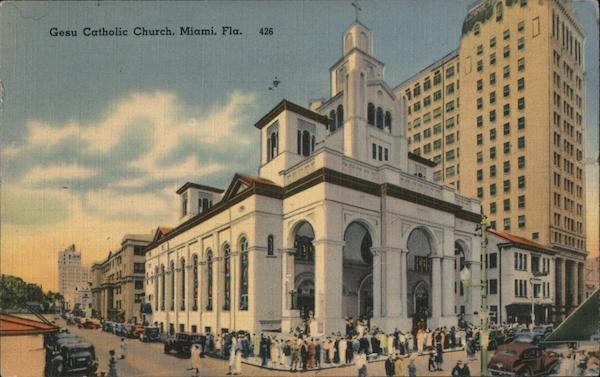 Gesu Catholic Church Miami Florida