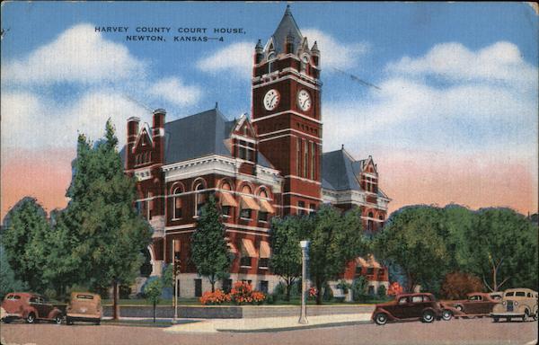 Harvey County Court House Newton Kansas