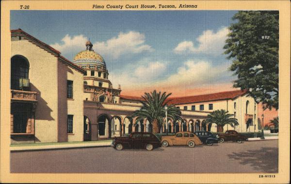 Pima County Court House Tucson Arizona