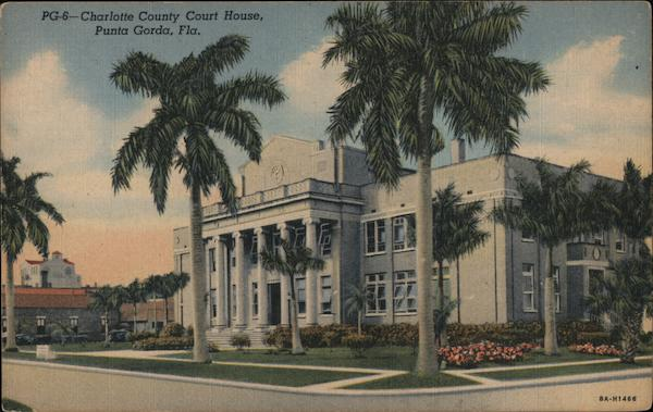 Charlotte County Court House Punta Gorda Florida