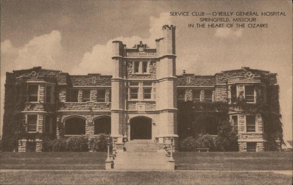 Service Club. O'Reilly General Hospital Springfield Missouri