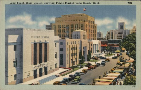 Long Beach Civic Center California