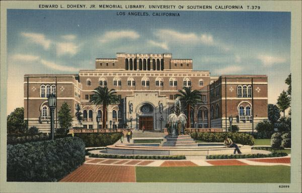 Edward L. Doheny Jr. Memorial Library, University of Southern California Los Angeles