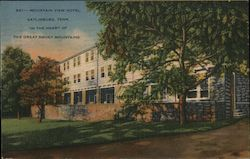 "Mountain View Hotel ""In the Heart of the Great Smoky Mountains"" Postcard"