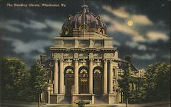 The Handley Library Postcard