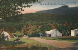 Dolly Copp Camp Ground, Imp. Pinkham Notch White Mountains Postcard