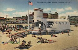 Sun and ocean bathing. New Jersey State Exhibit Free Postcard