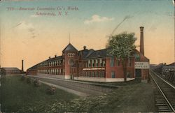 American Locomotive Co.'s Works Postcard