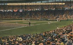 Sportsman's Park, Home of St. Louis Cardinals and Browns Postcard