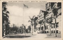Court House in Orange County Postcard