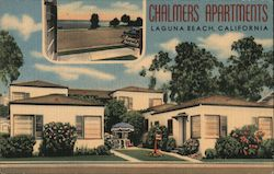 Chalmers Apartments Postcard