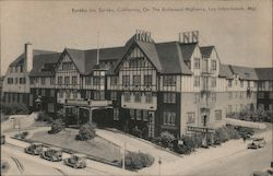Eureka Inn, Eureka, Califonia, On the Redwood Higway, Leo Labenbaum, Mgr. Postcard
