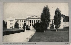 Union High School Postcard
