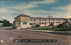 Borg's Motel Apartments by the Sea Postcard