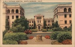 Cottage Hospital Postcard