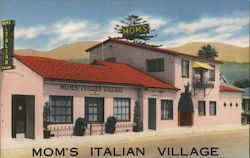 Mom's Italian Village Postcard
