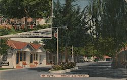 101 Motel, Cool Lounging Place, office Postcard