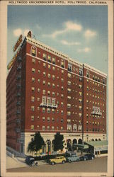 Hollywood Knickerbocker Hotel Postcard