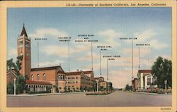University of Southern California Postcard
