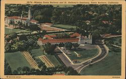 Mission and St. Anthony's Seminary Postcard