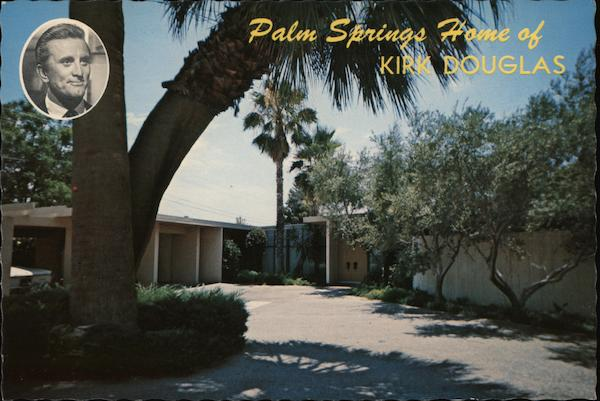 Home of Kirk Douglas Palm Springs Florida