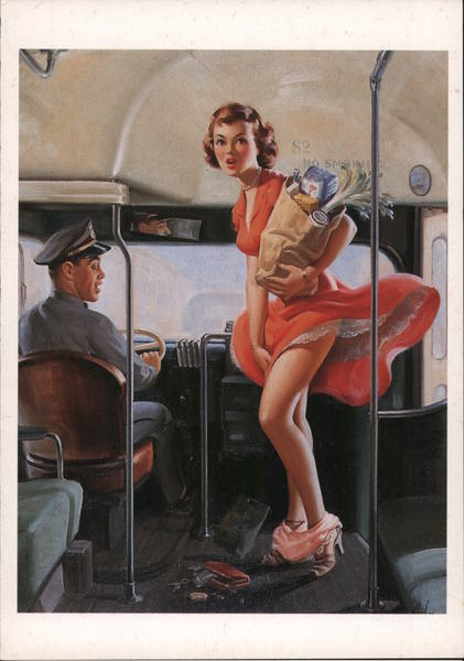A Fare Loser - Art Frahm, 1953 Swimsuits & Pinup