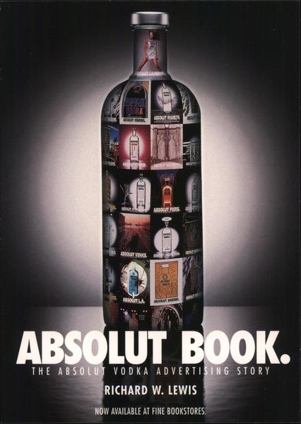 Absolut Book. Rack Cards