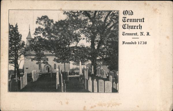 Old Tennent Church and cemetery New Jersey