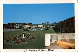 The William & Mary Motel Postcard