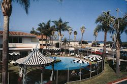 San Ysidro's West Beach Inn at the Harbor Postcard