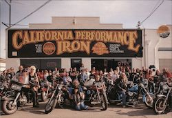 California Performance Iron, Inc. Harley-Davidson Postcard