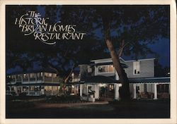 The Historic Bryan Homes Restaurant Postcard