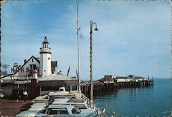 Santa Barbara Fishing Pier Postcard