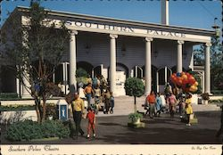 Southern Palace Theatre - Six Flags Over Texas Postcard