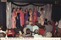 Pat Waters World Famous My-O-My Club Drag Queens Postcard